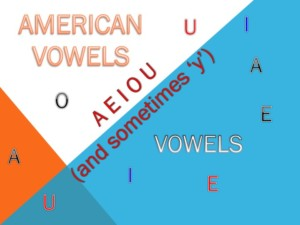American Vowels
