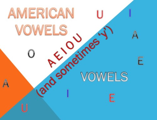Learn To Pronounce American English Vowels